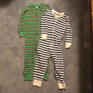 Hanna Andersson organic cotton boys sleepers